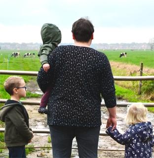 Kinderen beleven vrijheid op Lutje Zuuderham